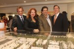 Doral Mayor Luigi Boria, Doral Councilwoman Bettina Rodriguez Aguilera, Carlos Bermudez, Doral City Manager Joe Carollo