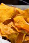 Camote (Sweet Potato) Chips at Divino Ceviche.