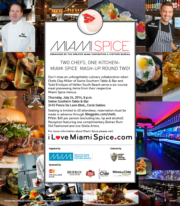 Miami Spice 2014 CHEF MASH-UP -- FINAL