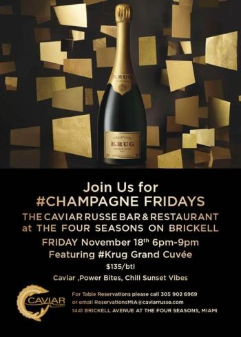 Champagne-Fridays