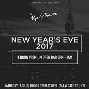 New Year Party at Up and Down NYE 2016