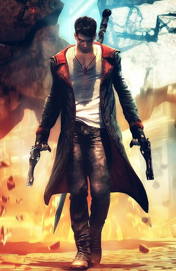 Devil May Cry Wallpaper Hd Devil May Cry 5 Dante S Leather Coat Dmc5 Soul Revolver