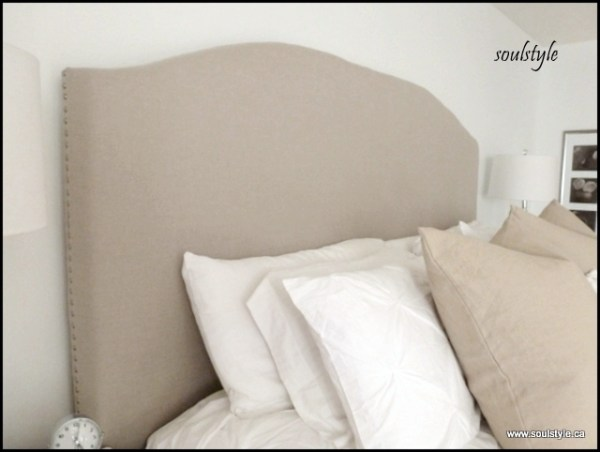 Side of Upholstered headboard