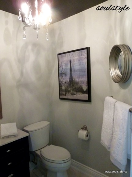 Powder room decorating Pretty powder room ideas