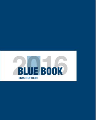 Blue Book 2016
