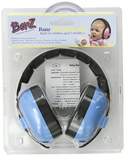 Noise cancelling headphones and earmuffs for kids and babies can provide several health and mental benefits 1