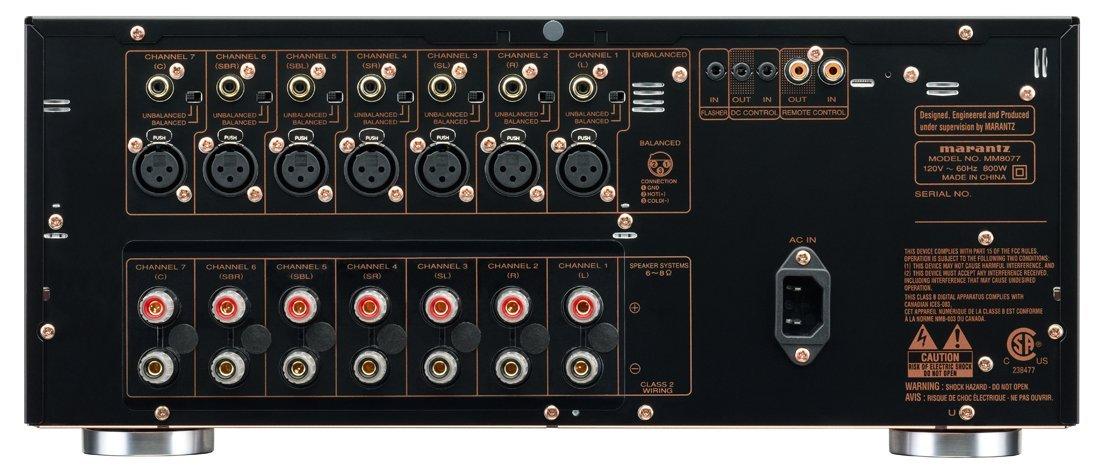 Marantz Av8801 Mm8077 Review Soundvisionreview