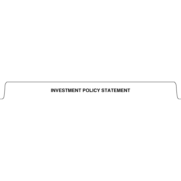 Source1Binders INVESTMENT POLICY STATEMENT tab