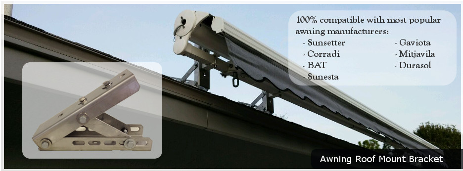 Retractable Awning Roof Brackets 12300 About Roof
