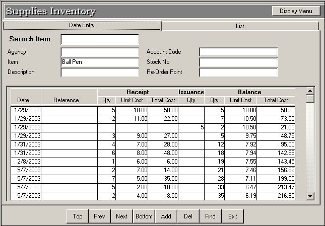 Supplies Inventory System Free Source Code  Tutorials