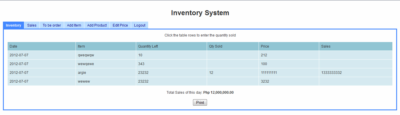 Simple Inventory System Using PHP/MySQL Free source code - how to create an inventory database