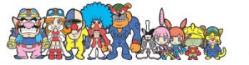 The WarioWare Cast.