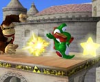Yoshi Bomb. For a move with a lot of lag, it's hard to punish.