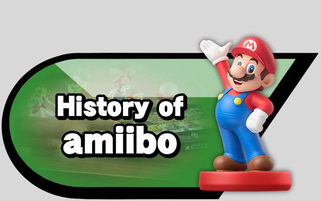 history of amiibo alt
