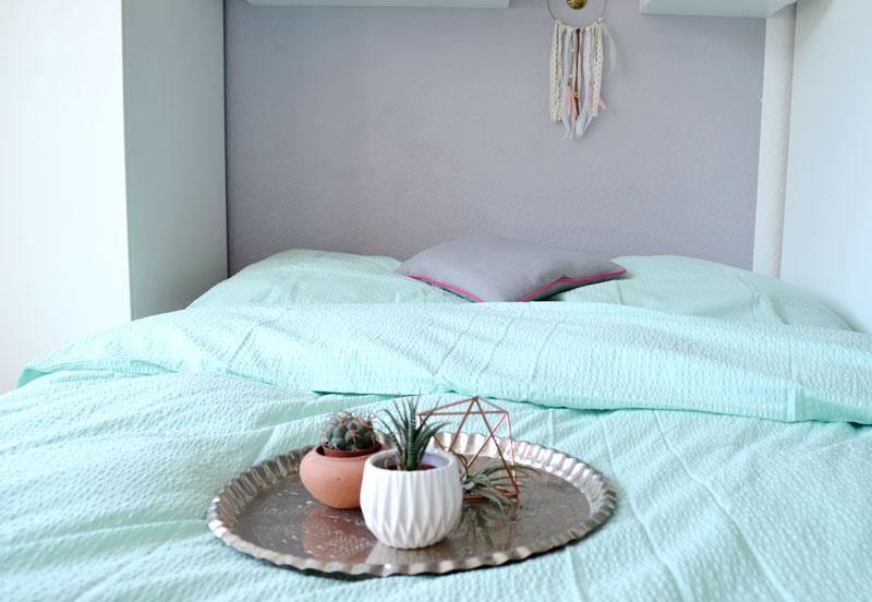 schlafzimmer mint gestalten. Black Bedroom Furniture Sets. Home Design Ideas