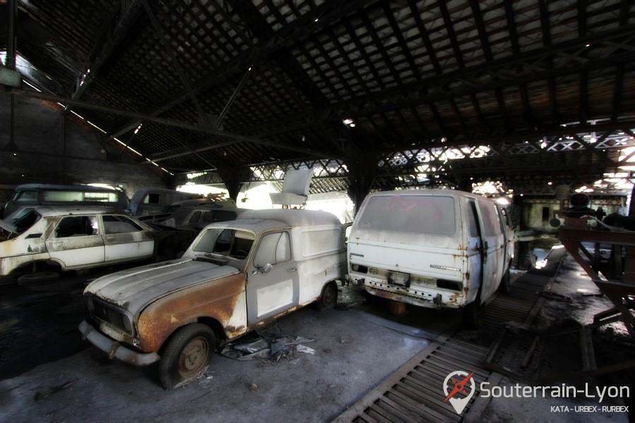 Garage des ann es 70 urbex rurbex souterrains de lyon for Garage avatacar lyon 8