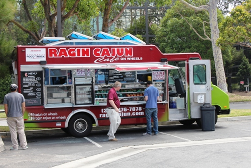 Ragin Cajun (on wheels) In El Segundo