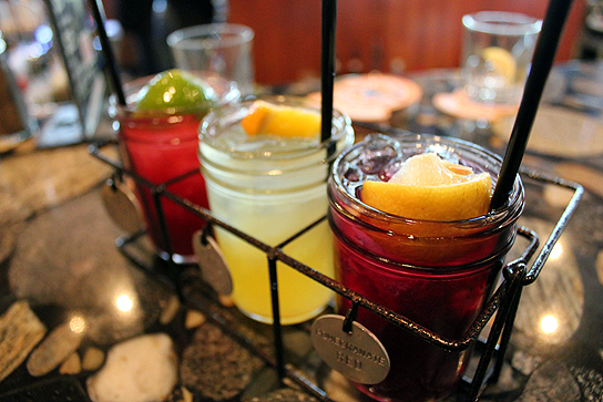 Sangria Sampler, Happy Hour at Lazy Dog Cafe, Torrance 026