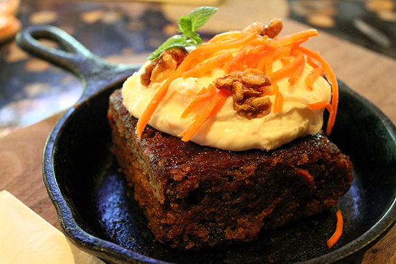 Carrot Cake at Lazy Dog Cafe, Torrance