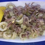 Calamari with Greek seasoning