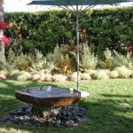 Fountain in the Serenity Garden