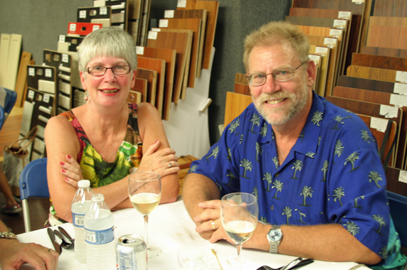 Derek & Theresa, #1 fans of Slummin' Gourmet