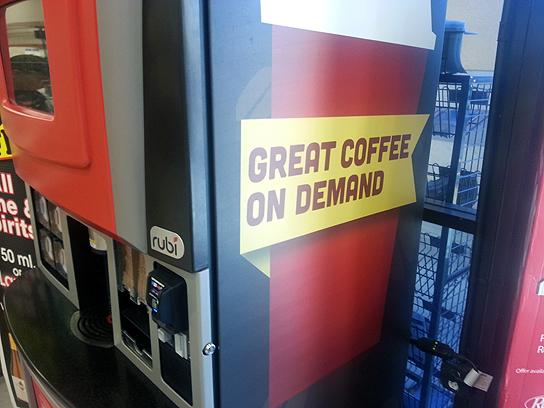 seattle best coffee vending machine