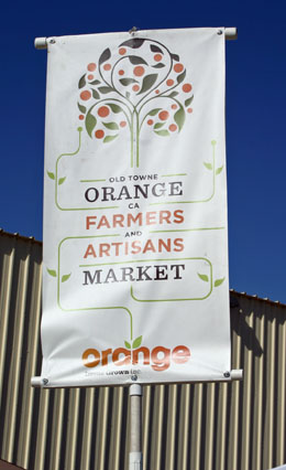 Home Grown Farmers Market in Orange