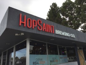 Hop Saint Brewery offers delicious Southern food