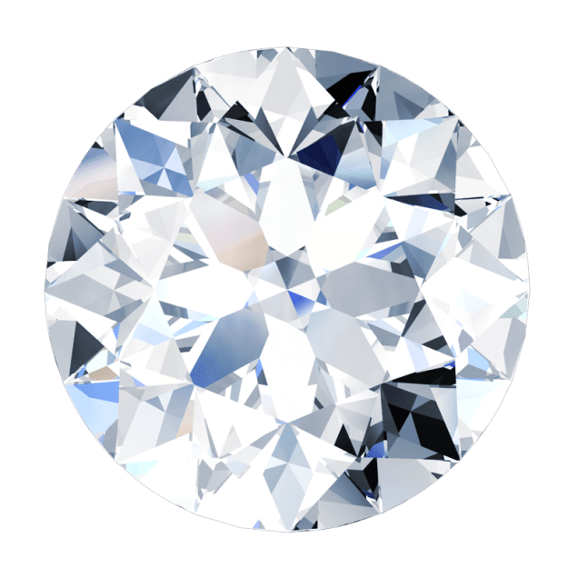 Diamond Round Brilliant - South Bay Gold