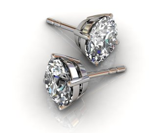 Diamond Studs - South Bay Gold