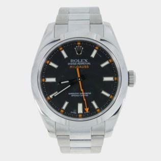 Rolex Oyster Perpetual Milgauss Black 116400 South Bay Gold - Torrance, California