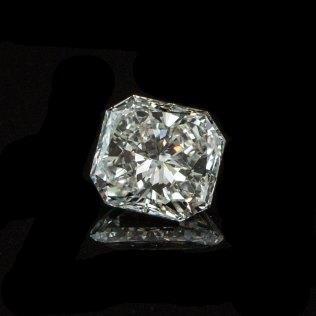 Radiant Cut Diamond VS2 GIA South Bay Gold