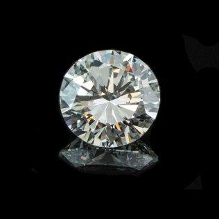Round Brillant Cut Diamond - F - VS1 - EG USA - South Bay Gold