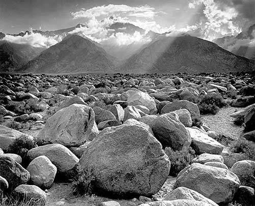 Ansel Adams, Mount Williamson, 1944