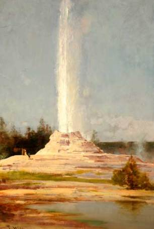 Hill Giant Geyser, Yellowstone