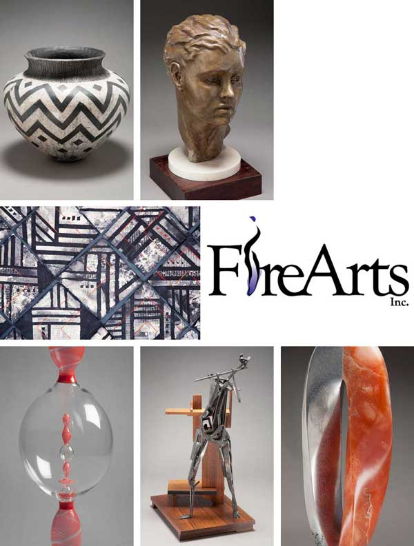 Fire Arts Collage