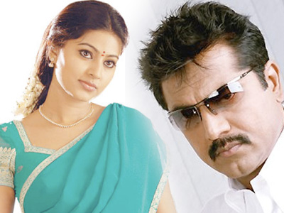 sneha sarathkumar Sneha pairing with Sarathkumar under KS Ravikumar direction for Sun TV