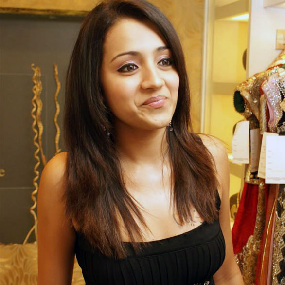 Celebrities at EA Bridal Lounge Special Preview and Party 147 Actress Trisha krishnan beautiful photo gallery