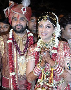 shilpa shetty wedding pics Shilpa Shetty ties the knot, becomes Mrs Raj Kundra