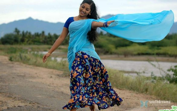 mallu masala actress navya nair hot and sexy unseen photos 12 586x368 Navya Nair hot photo gallery