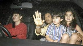 sachin family kids Sachin Tendulkar Rare Picture & Videos