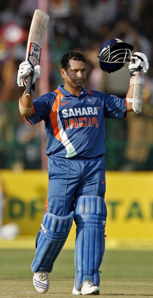 tendulkar Tendulkar hits first 200 in ODIs, congratulate him