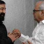 Kamal Haasan, K Balachander call on Sarath Kumar