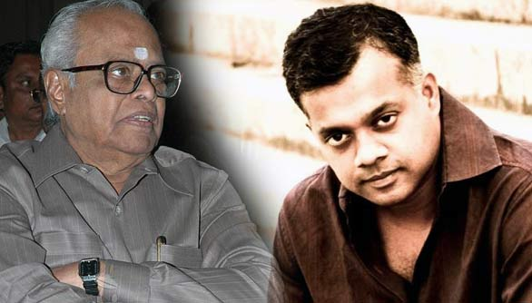tamil movie directors k balachander gowtham menon KB's congratulatory letter for Gowtham Menon