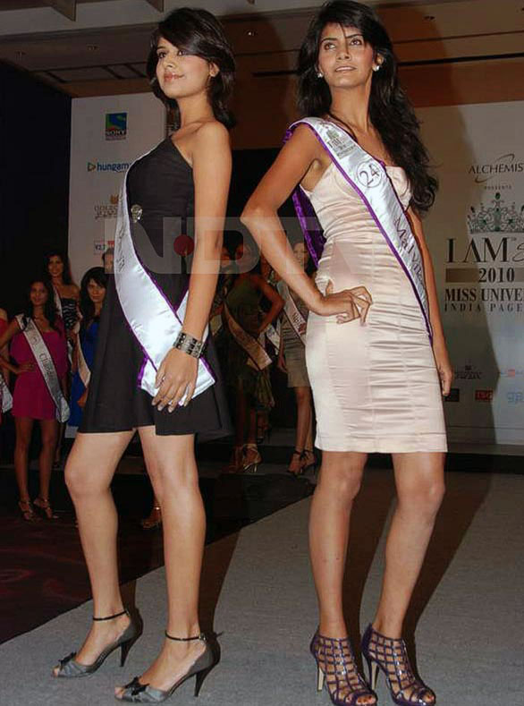Femina Miss India 2010 12 Pantaloons Femina Miss India Finalists stills