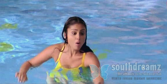 Actress Shriya in swimsuit hot stills Hot Shriya in swimsuit