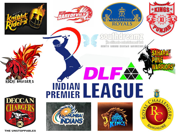 IPL 4 logos IPL 4   IPL 2011 Schedule, Teams, Venue & Players