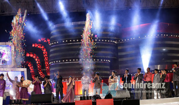 Airtel Super Singer 3 Finale   Sathyaprakash, Saicharan, Santhosh, Pooja at Trade Center, Nandambakkam, Chennai