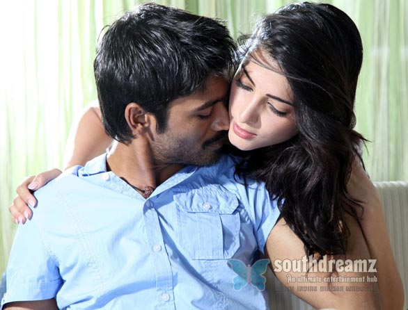 3 dhanush shruti hassan love making photos Top 10 Tamil songs 2012